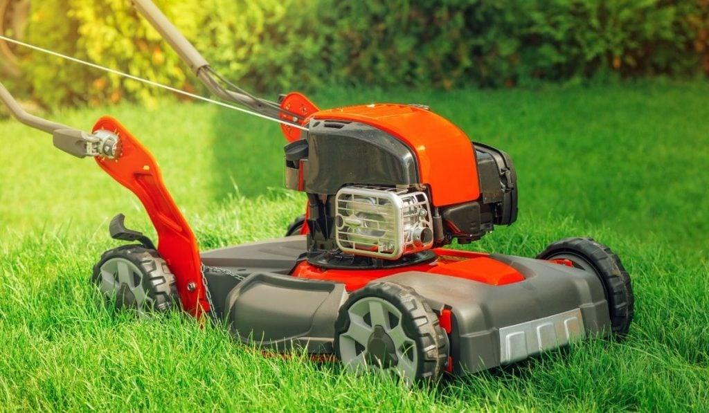 Push rotary power mowers