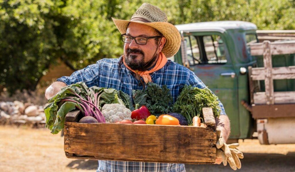 Organic-Farmers-Fresh-Veggies