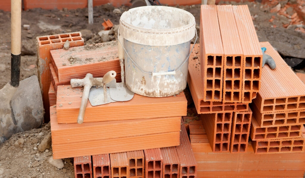 tools needed to construct a raised bed